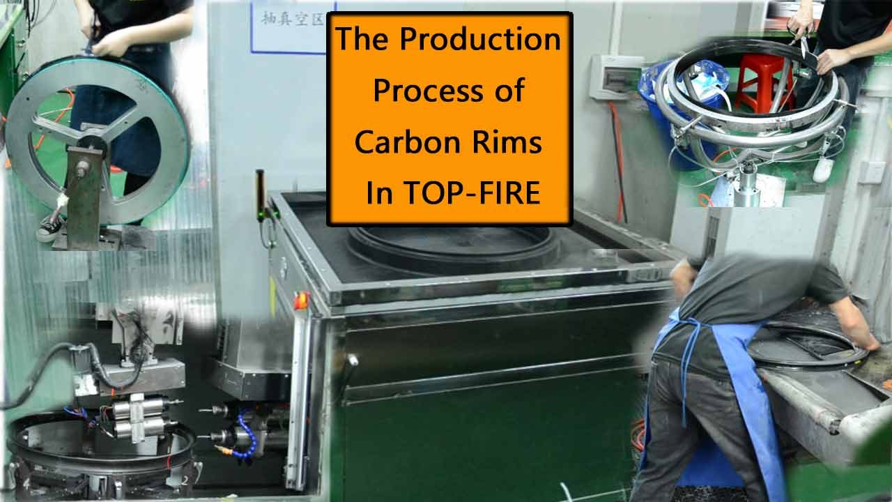 Le processus de production de jantes en carbone TOP-FIRE